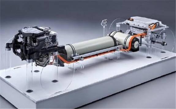 宝马氢燃料汽车动力系统曝光 储氢罐可在3-4分钟内充满