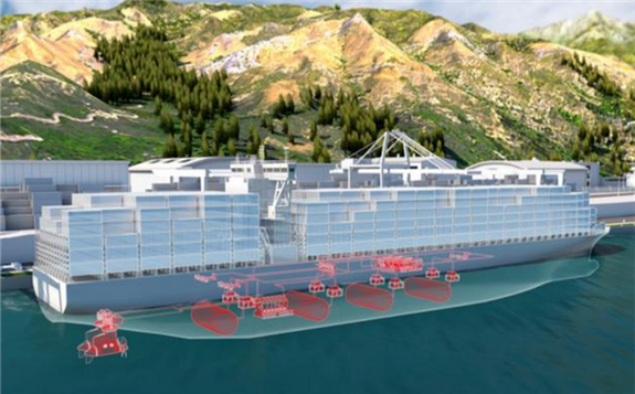 """ABB计划开发大规模氢燃料电池 为集装箱船提供""""兆瓦级""""氢动力系统"""