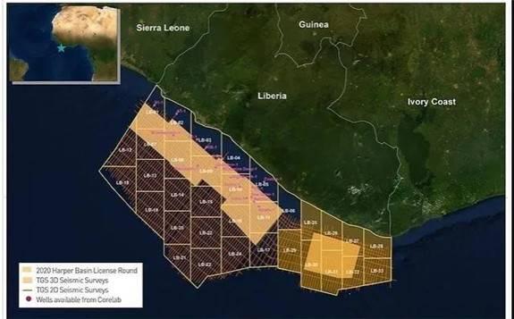 利比里亞啟動2020年哈珀盆地許可授權招標