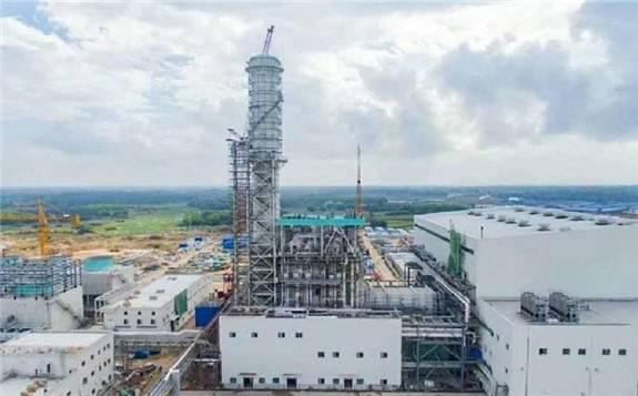 海南文昌燃气蒸汽联合循环电厂项目首台机组已投入商运