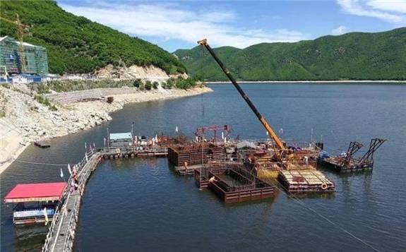 国内首个抽水蓄能电站管路工厂化预制系统正式运行