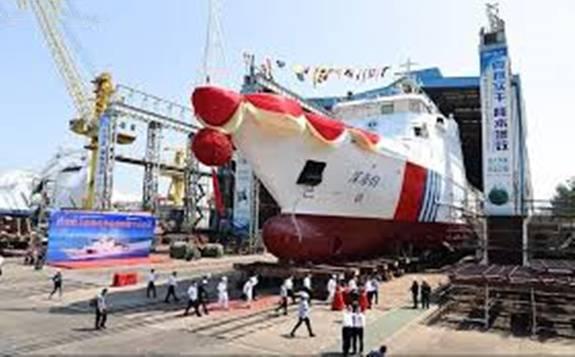 """""""深海01""""顺利下水 标志着宁德时代首套海洋船舶动力电池系统成功下线"""