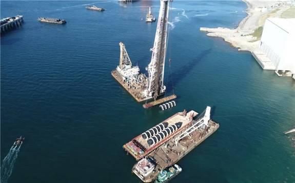 菲律宾燃煤电站项目建成全球最大直径海上取排水管道贯通