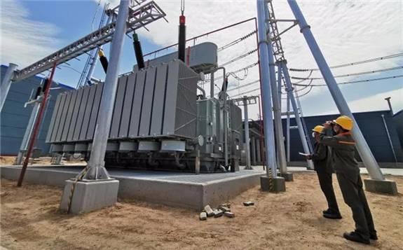 国内首次应用2台360兆伏安降压大容量变压器在内蒙古落地投产