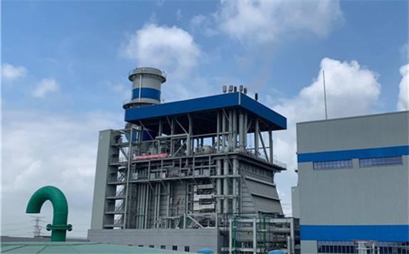华电广州增城燃气冷热电三联供工程#1机组点火吹管顺利完成