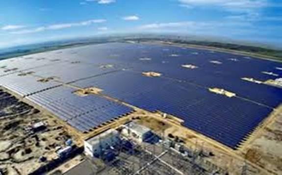 韩国最大规模光伏发电园区开始投入商业运营