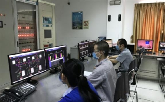 柬埔寨甘再水電站2020年首次實現八臺機組同時發電