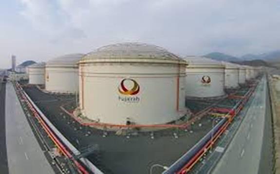 疫情导致石油需求下降,富查伊拉石油产品库存量攀升至创纪录水平