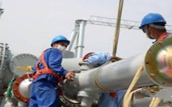 """哈电集团:""""中国智造""""中东首个清洁燃煤电站并网发电"""