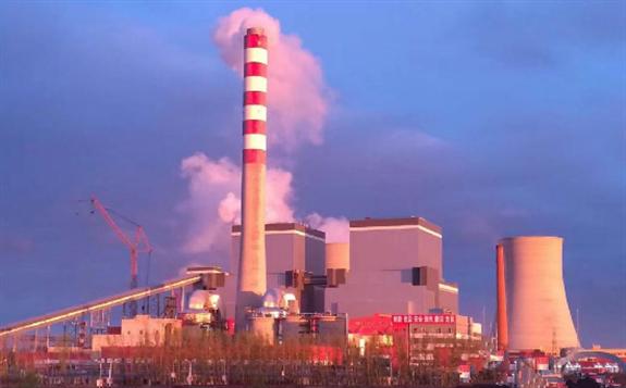 中国能建承建的黑龙江宝清煤电工程2号机组并网发电
