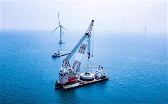 """中交三航局海上""""利器""""展现强大性能 全面开拓海上风电"""