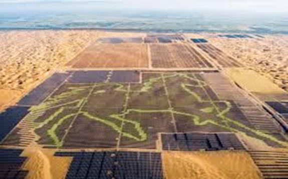 内蒙古阿拉善盟签订1GW光伏治沙项目 总投资40亿元!