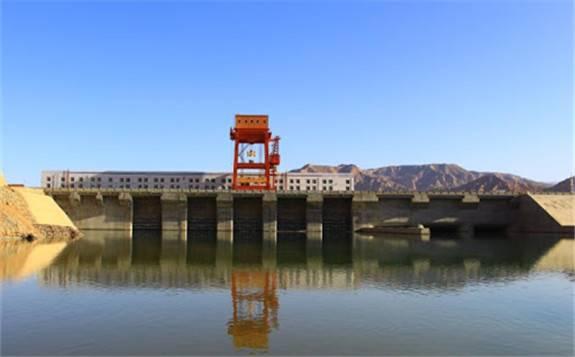 黄河公司积石峡水电闸门动水试验完成