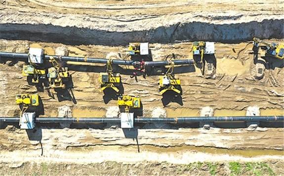 中俄东线天然气管道工程正在稳步推进