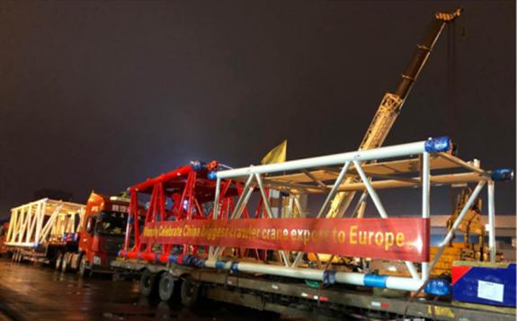 """一场吸引行业关注的""""逆行"""":中国风电吊装巨头敲开欧洲大门!"""