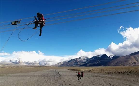 西藏阿里與藏中電網聯網工程建設進入攻堅期