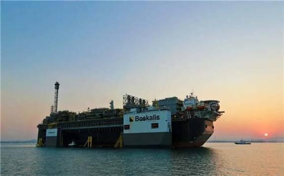 """中国制造大型""""海上油气工厂""""在巴西正式投产"""