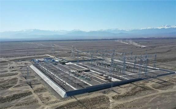 新疆第一个竣工投运的750千伏输变电工程