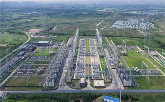 世界上电力交换能力最强的交流变电站投运
