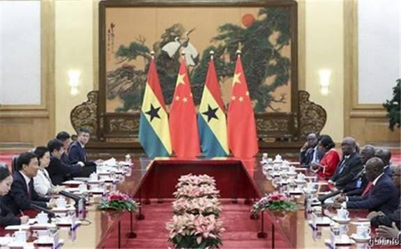 习大大同加纳总统阿库福-阿多就中加建交60周年互致贺电