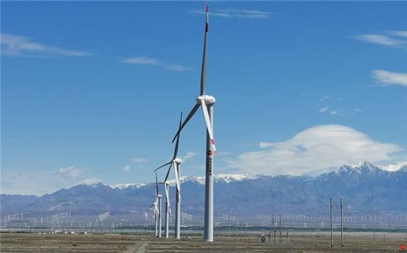 龙源电力首个风电平价上网示范项目投产发电