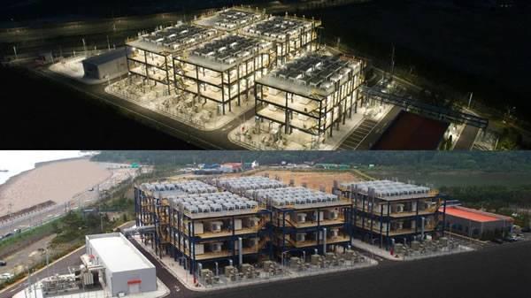 全球最大工业副产氢燃料电池发电站竣工