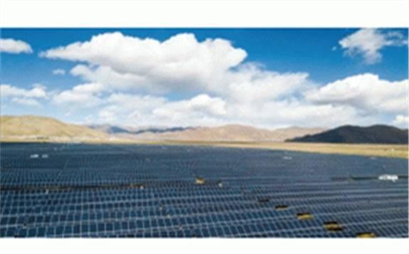 西藏自治区首个大型光伏储能示范项目年底竣工