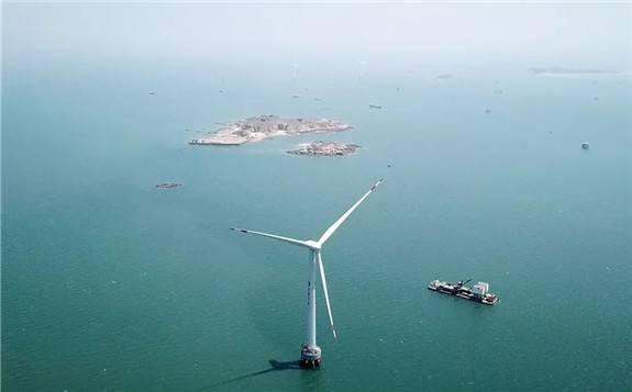 国内首个10MW海上风电机组成功实现孤岛运行