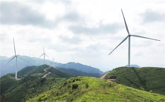 中京电投集团-中天万和修水九云岭风电场单月发电量再创佳绩
