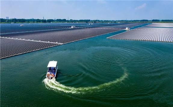 73MW!韩阳建设企业承揽韩国国内最大水上光伏发电项目
