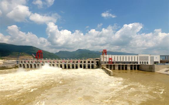 中国电建承建大藤峡左岸工程全面投产运行