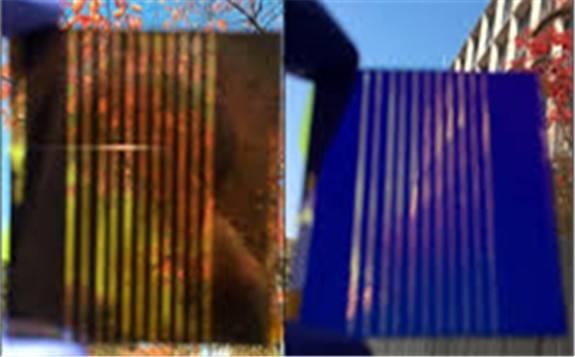 韩国研发出五颜六色马卡龙似的彩色太阳能电池