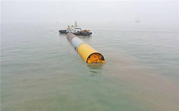 亚洲首次,三航新能源成功实施海上风电大直径单桩浮运!