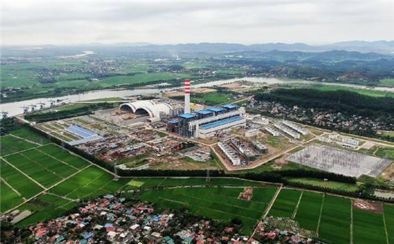 中国能建越南海阳燃煤电厂1号机组启动整套试运行