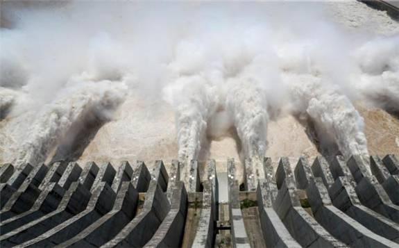 三峡水库现今年最大入库流量 !
