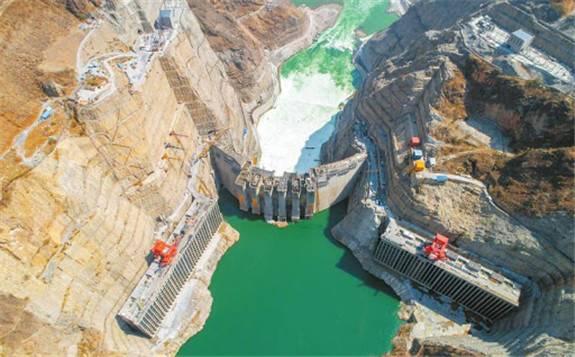 世界第七、中国第四大巨型水电站——乌东德水电站创多项世界之最