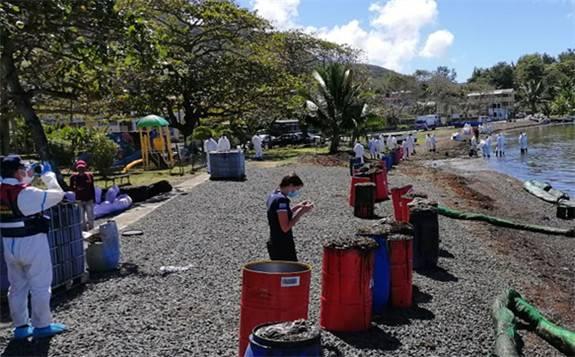 联合国协力相助毛里求斯应对海域漏油事件