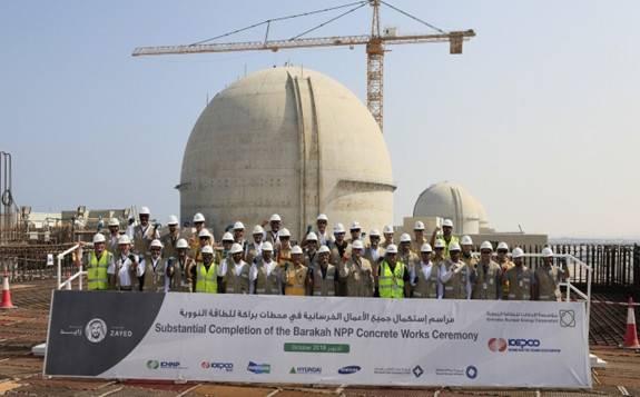 阿联酋首个核电站:巴拉卡核电站1号机组投产!