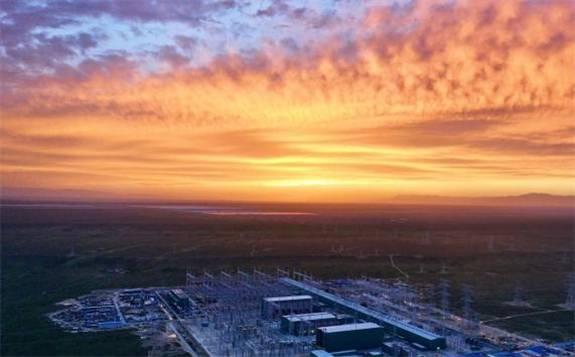 """世界首个新能源特高压输电通道已向河南输送""""绿电""""10亿度"""