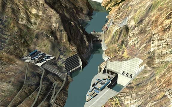 金沙江乌东德水电站有序推进 预计2021年7月全部机组投产发电