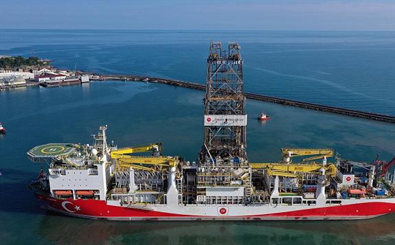 """黑海天然气发现成为土耳其能源""""转折点"""""""