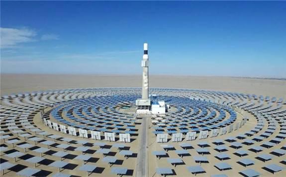 """太阳能热发电已成为中国实施""""一带一路""""建设的优势产业"""