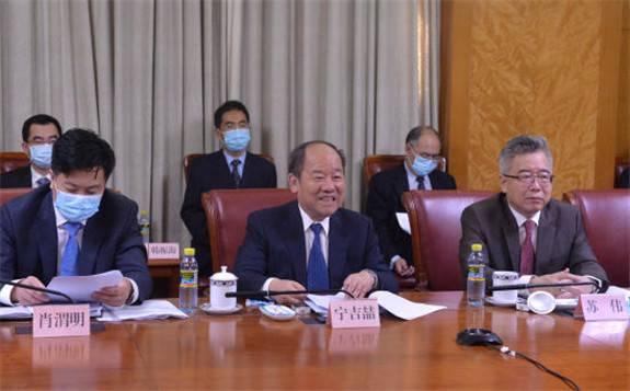 """国家发展改革委与香港特区政府召开支持香港全面参与和助力""""一带一路""""建设联席会议第三次会议"""