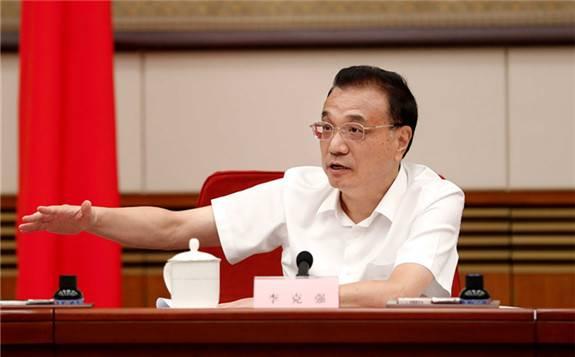 李总理总理在国务院常务会议上表示:加强大气污染科学防治促进绿色发展