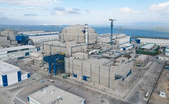 中核二四公司建的华龙一号全球首堆福清核电5号机组首炉燃料装载正式开始