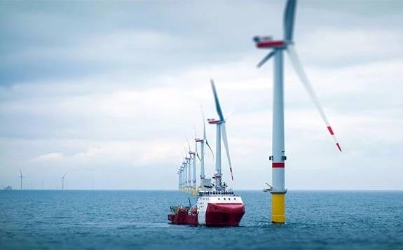 英国石油公司首次涉足海上风电领域