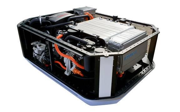 现代汽车首次出口氢燃料电池系统