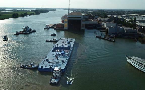 NKT正在提高其在德国科隆工厂的海上电力电缆的运输和存储能力。