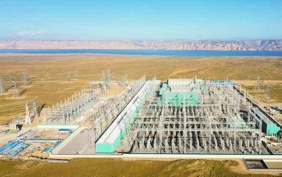 """青豫直流工程累计向河南输送""""绿电""""20亿度,减少燃煤消耗90万吨"""