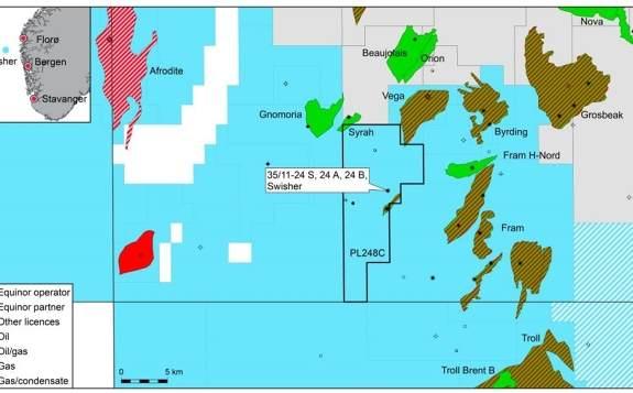 挪威能源巨头Equinor在北海Swisher勘探区发现油气